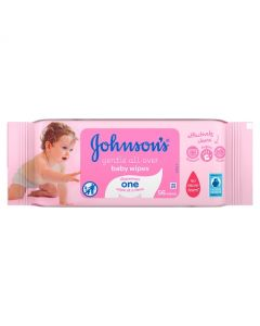 Johnson's Baby Gentle Cleansing Wipes - 56