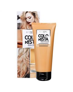 L'Oreal Paris Colorista Pastel 1 Week Peach Hair