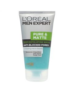 Loreal Men Expert Pure & Matte Exfoliating Scrub 150ml