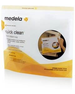 Medela Quick Clean Microwave Bags (5)|Breastfeeding|Buy Online at Mc Cabes Pharmacy Ireland