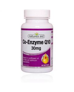 Natures Aid Co Q 10 30mg (90) +50% FREE 145 Softgels (Not the correct image)
