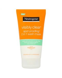 Neutrogena Visibly Clear 2in1 Wash & Mask 150ml