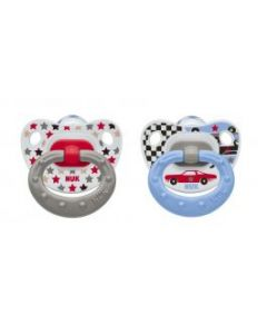 NUK Happy Days Soother 0-6 months - Twin Pack