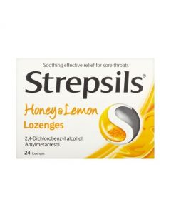 Strepsils Original lozenges Honey & Lemon are tried and trusted to help fight bacterial throat infections and relieve sore throats. Buy Strepsils online in Ireland. 24s