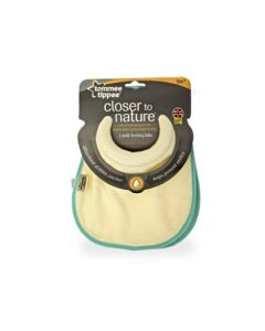 Tommee Tippee Close to Nature Milk Feeding Bibs