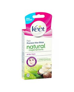 Veet Natural Inspirations Face Precision Wax Strips (20s)