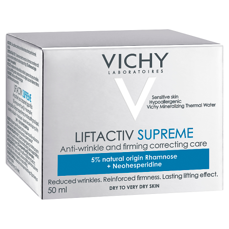 93b4d13d901 Vichy Liftactiv Supreme Day Cream Dry 50ml | Next day delivery