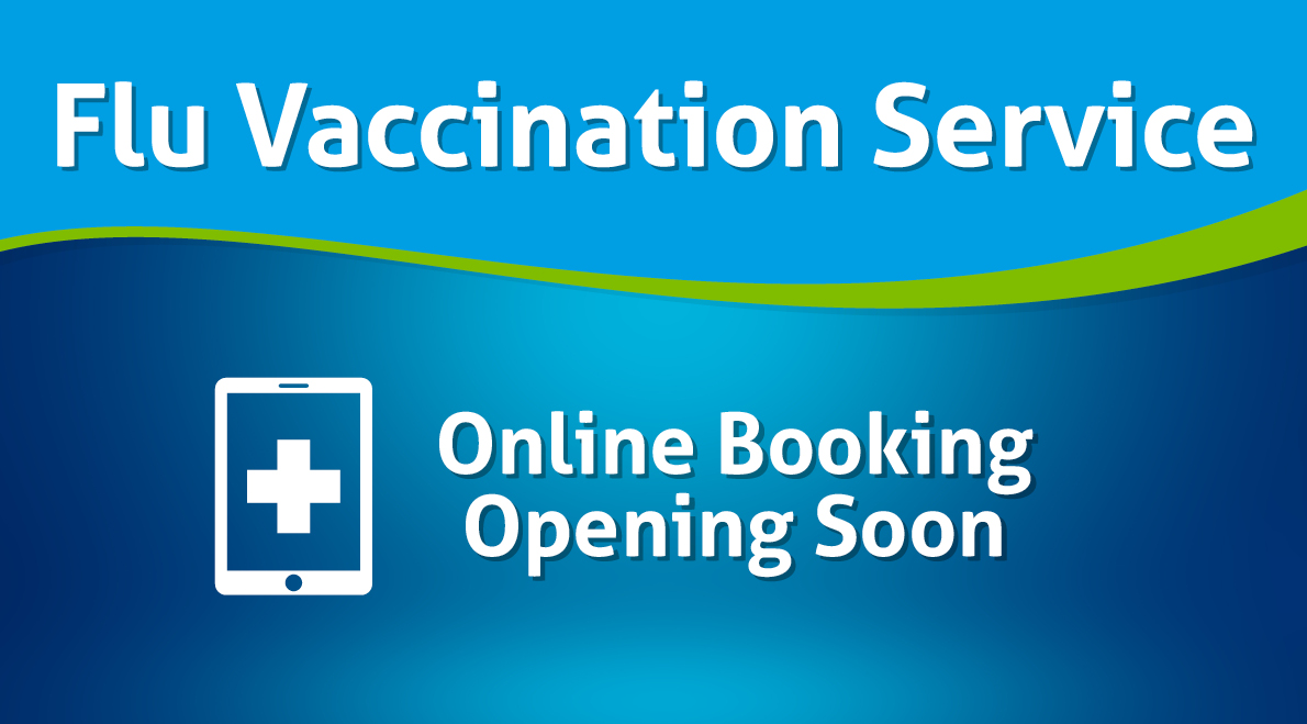 Book your Flu Vaccination Soon
