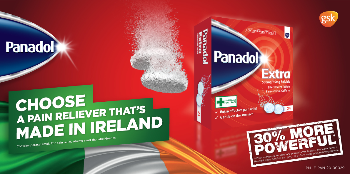 Panadol Made In Ireland