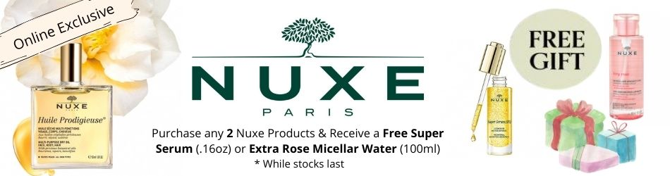 Nuxe free gift offer