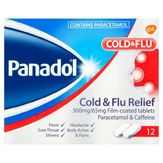Panadol Cold and Flu Relief