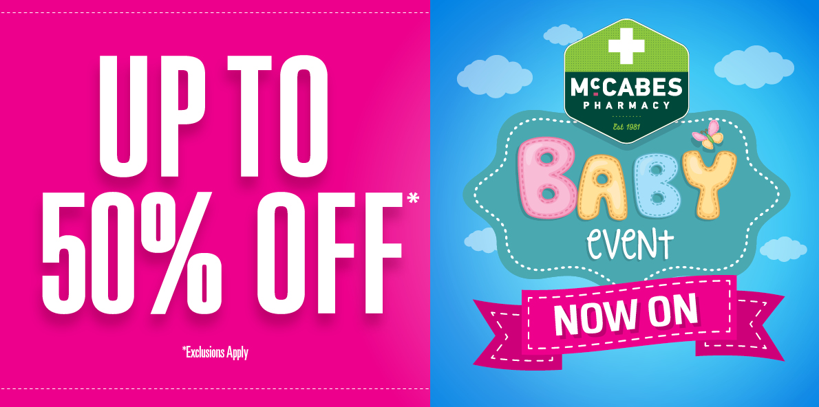 McCabes Pharmacy Baby Event Sale