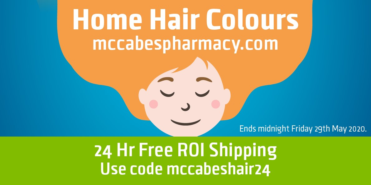 Home Hair Colours at McCabes Pharmacy