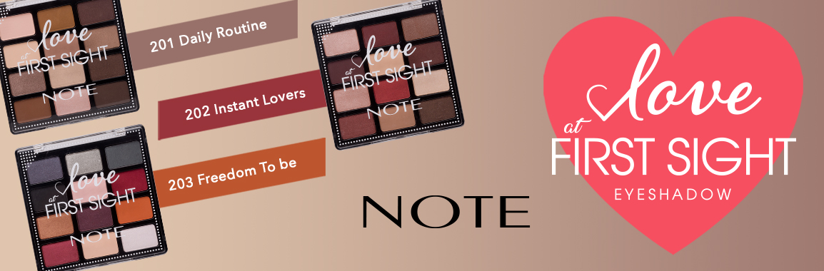 Introducing NOTE Cosmetics