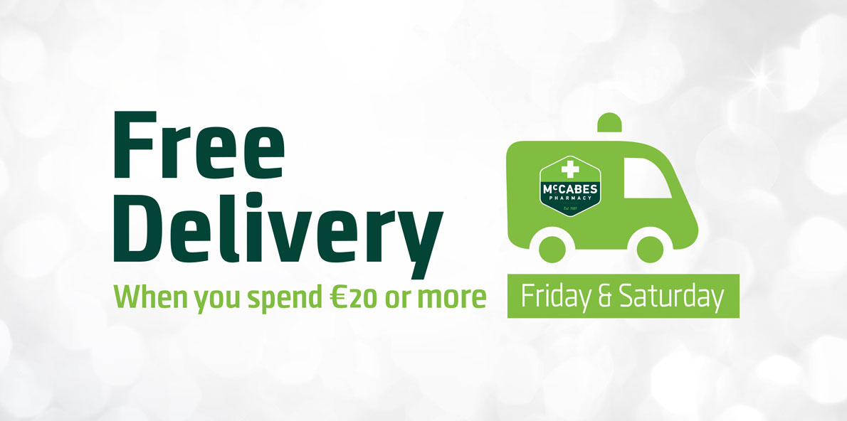 Free Shipping when you spend over €20